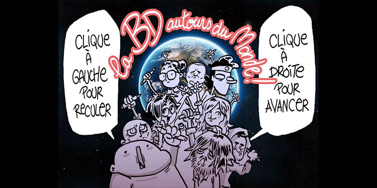 La BD autour du monde, un turbomedia réalisé en direct de We Do BD